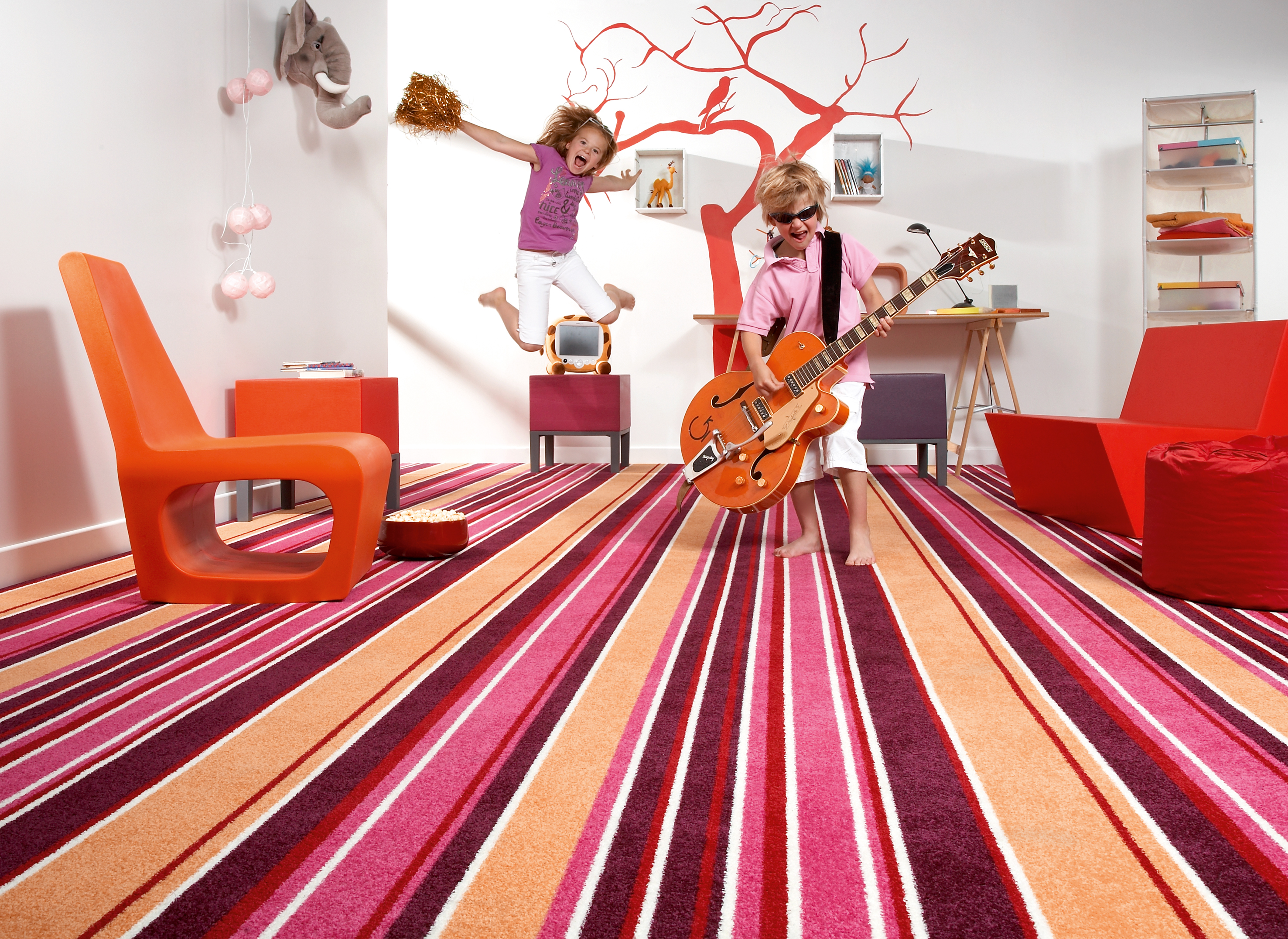Striped Carpets Vinylflooringonline